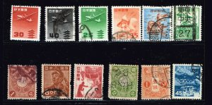 JAPAN STAMP USED STAMP COLLECTION LOT #M1