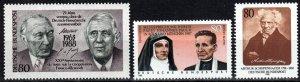 Germany #1546-7, 1549  MNH CV $3.45  (X2563)