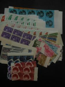 EGYPT : 6 different Complete VF, MNH sets in quantities of 10 of each. Cat