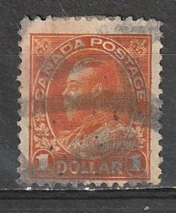 #122 Canada Used Admiral $1