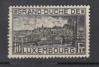 J25806  jlstamps 1923 luxembourg used #152 view perf 11 1/2