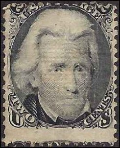 87 Mint,NG.. SCV $650.00 (for No Gum)...Straddle margin w/top of adjoining stamp