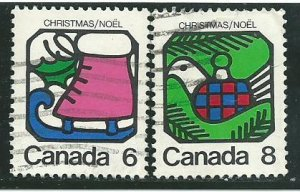 Can #625-26     used   VF 1973 PD