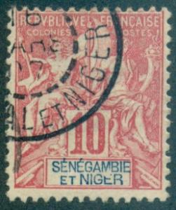 Senegambia & Niger #5  Used  Scott $9.00