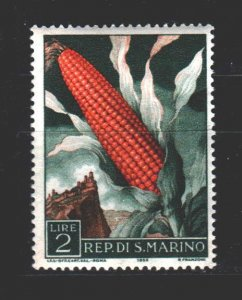 San Marino. 1958. 595. Corn flora. MNH.