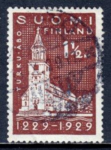 Finland - Scott #156 - Used - Crease LL corner - SCV $4.50