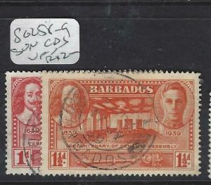 BARBADOS  (PP1903B)  SG 258-9   VFU