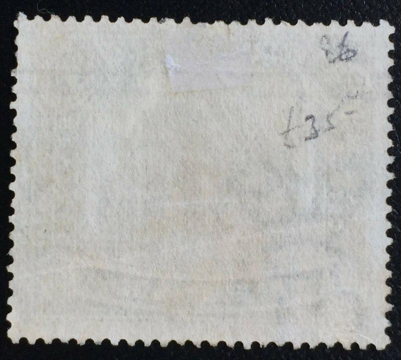 Malaya Perak 3c opt $1 Elephants 1910 Used SG#86 partial print M2232