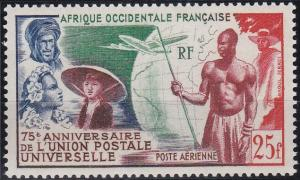 French West Africa C15 MNH (1949)