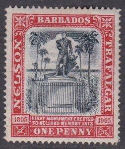 Barbados Sc #104 MH; Mi #71