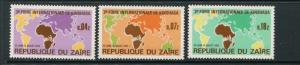 Zaire #793-5 MNH