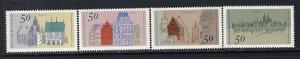 GERMANY 1196-99 MNH J586