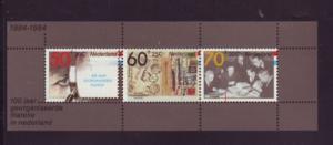Netherlands Sc B606a 1984 FILACENTO 84 stamp sheet NH