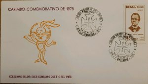 A) 1978, BRAZIL, COLLECT STAMPS: SAY WHAT YOUR FATHER IS, ECT, VISCONDE COLLEGE