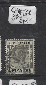 CYPRUS  (P0406B)  KGV  1/4P  SG 104   VFU