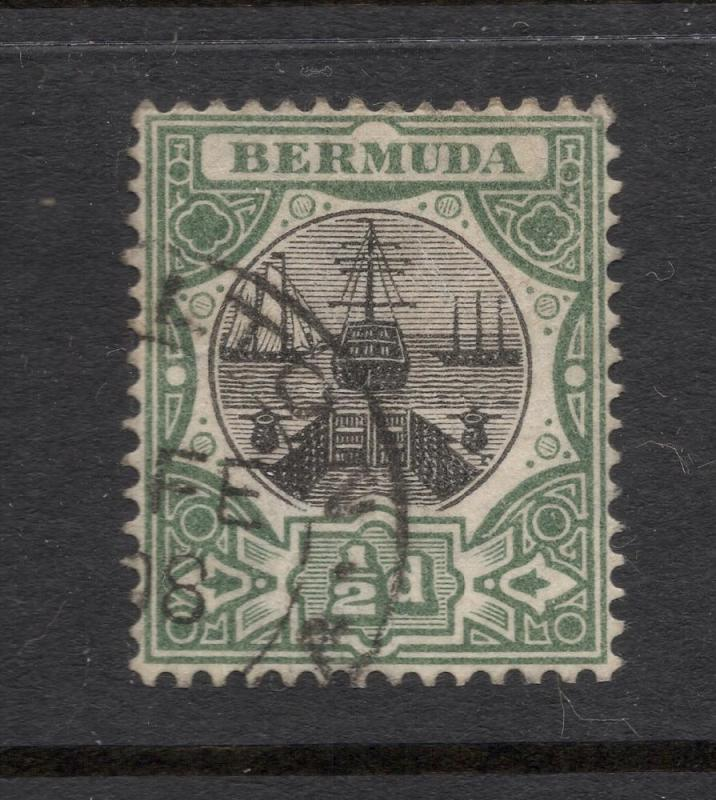 Bermuda #32 Gray Green & Black - Hamilton Cancel