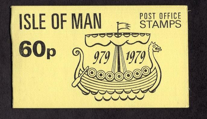 Isle of Man  #146a  1979 MNH  booklet with 3 panes of  #146a