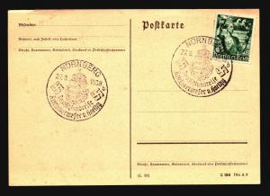 Germany 1938 Nurnberg Event Card / Light Edge Creasing - Z14915