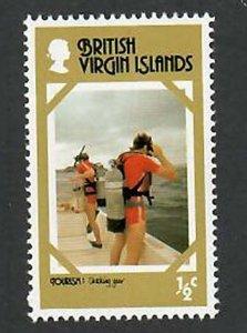 British Virgin Islands; Scott 327; 1978;  Unused; NH