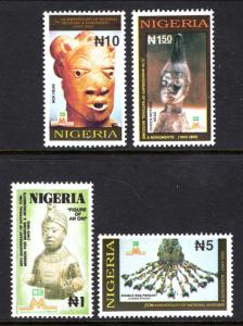 Nigeria 620-623 MNH VF