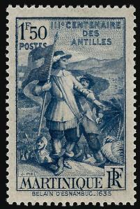 Martinique (Scott #175) Mint OG VF hr...Buy before prices go up!
