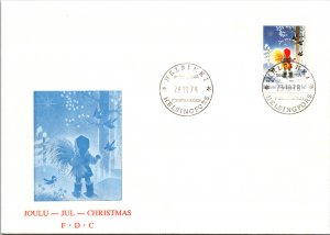 Finland, Worldwide First Day Cover, Christmas