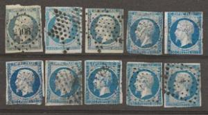 Nickel Auction. France 15x10 copies u [df20]