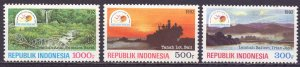 Indonesia. 1992. 1413-15. Tourism, visit ASEAN. MNH.
