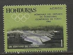 HONDURAS C336 VFU OLYMPICS S409-2