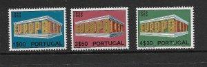 PORTUGAL - EUROPA 1969 - SCOTT 1038 TO 1040 - MNH