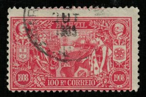 Brazil 1908 The 100th Anniversary of the Opening of Brazilian Port 100Rs.