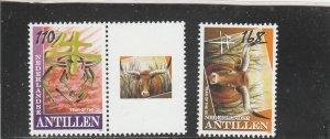 Netherlands Antilles  Scott#  1207-8  MNH  (2009 New Year)