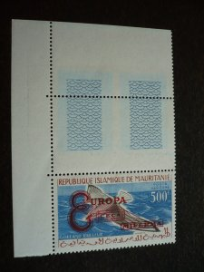 Europa 1961 - Mauritania - Single - Overprint