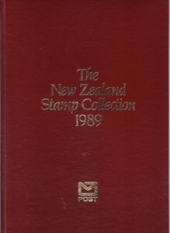 New Zealand - 1989 Yearbook (see description)