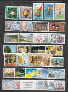 WALLIS & FUTUNA  AIRMAIL COLLECTION #2   CANCELLED