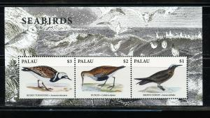 PALAU 2019  SEABIRDS SHEET OF SIX  MINT NEVER HINGED