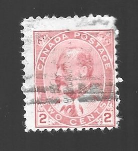 Canada #90  Edward VII   Used