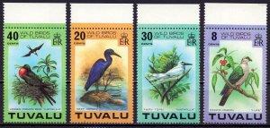 Tuvalu. 1978. 58-61. bird fauna. MNH.