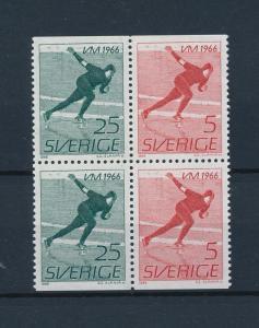 [44755] Sweden 1966 Sports Speed skating MNH