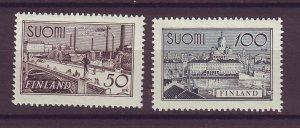 J25543 JLstamps 1942 finland mh set #239-40 views