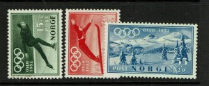 Norway SC# B50-B52, Mint Hinged, Hinge Remnant - S9411