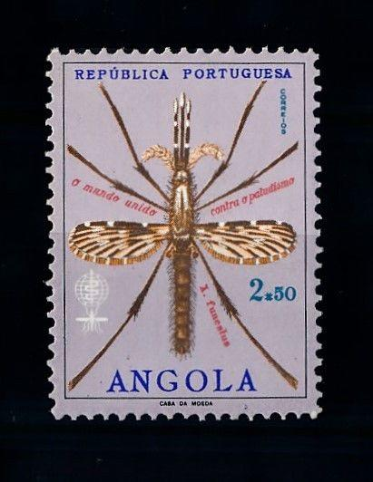 [70617] Angola 1962 Fight against Malaria Mosquito  MNH