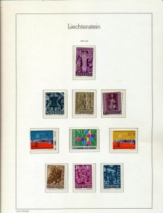 Liechtenstein 1959/64 MNH Europa Arms Art (60+Items) Seq222