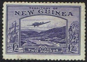 NEW GUINEA 1935 BULOLO AIRMAIL 2 POUNDS