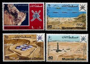HERRICKSTAMP OMAN Sc.# 106-09 1969 First Commem Stamps