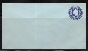 USA Stationery Envelope Scott U439 3c Washington Mint