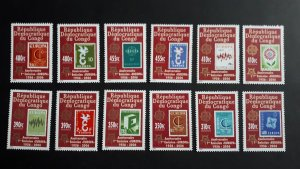 50th anniversary of EUROPA stamps - Congo complete set perf. ** MNH
