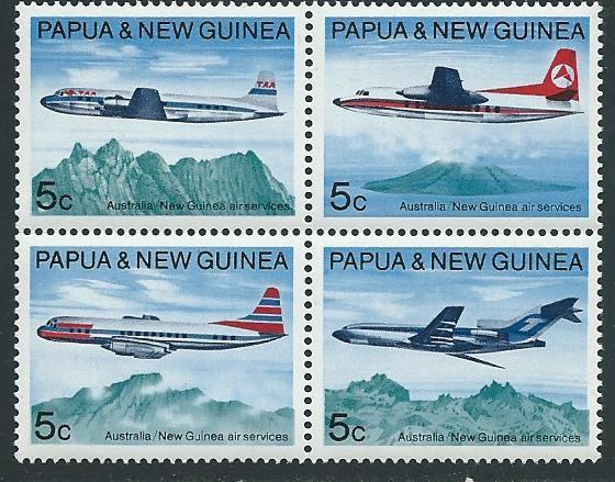 Papua New Guinea MNH Block 308a Aircraft
