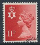 GB Northern Ireland SG NI30 SC# NIMH15  Machin 11p  Phosphor Omitted Used  se...