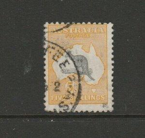Australia 1929/30 Kangaroo 5/- SG 111